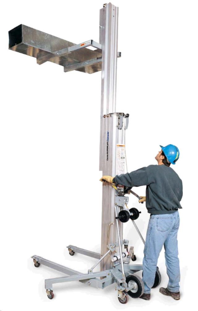 Where to find MATERIAL LIFT,  CRANK   18    650 LBS in Chicago