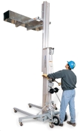 Where to rent MATERIAL LIFT,  CRANK   18    650 LBS in Chicago IL