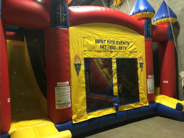 Where to find MOONWALK DUAL SLIDE CASTLE COMBO in Chicago