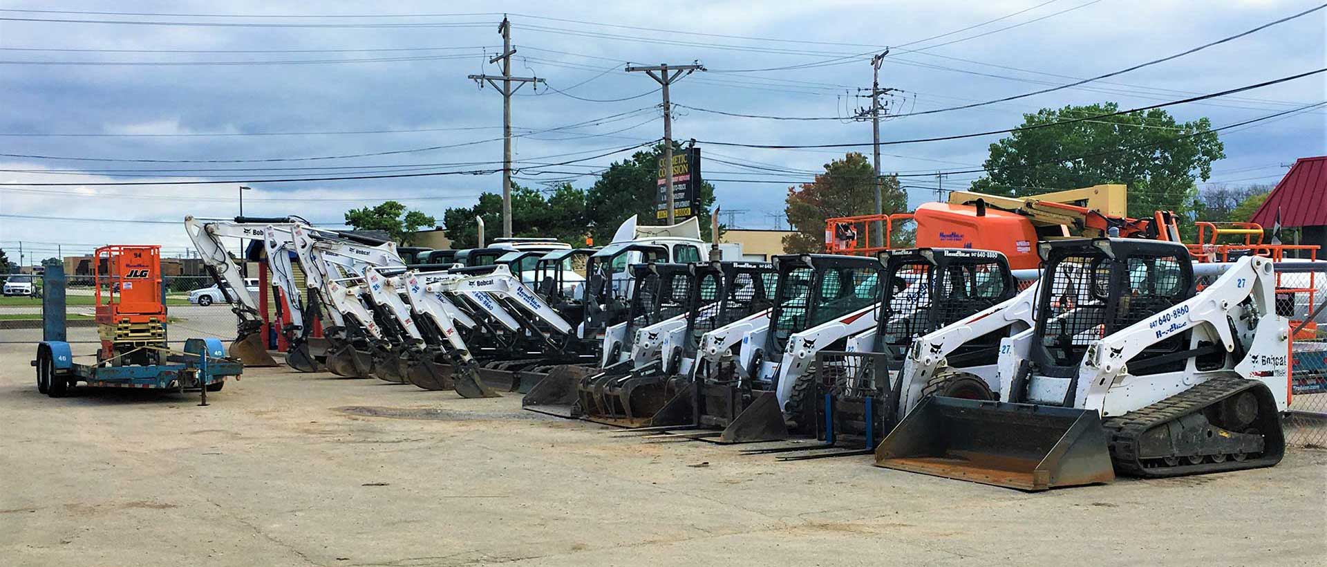 Equipment Rentals in Chicago
